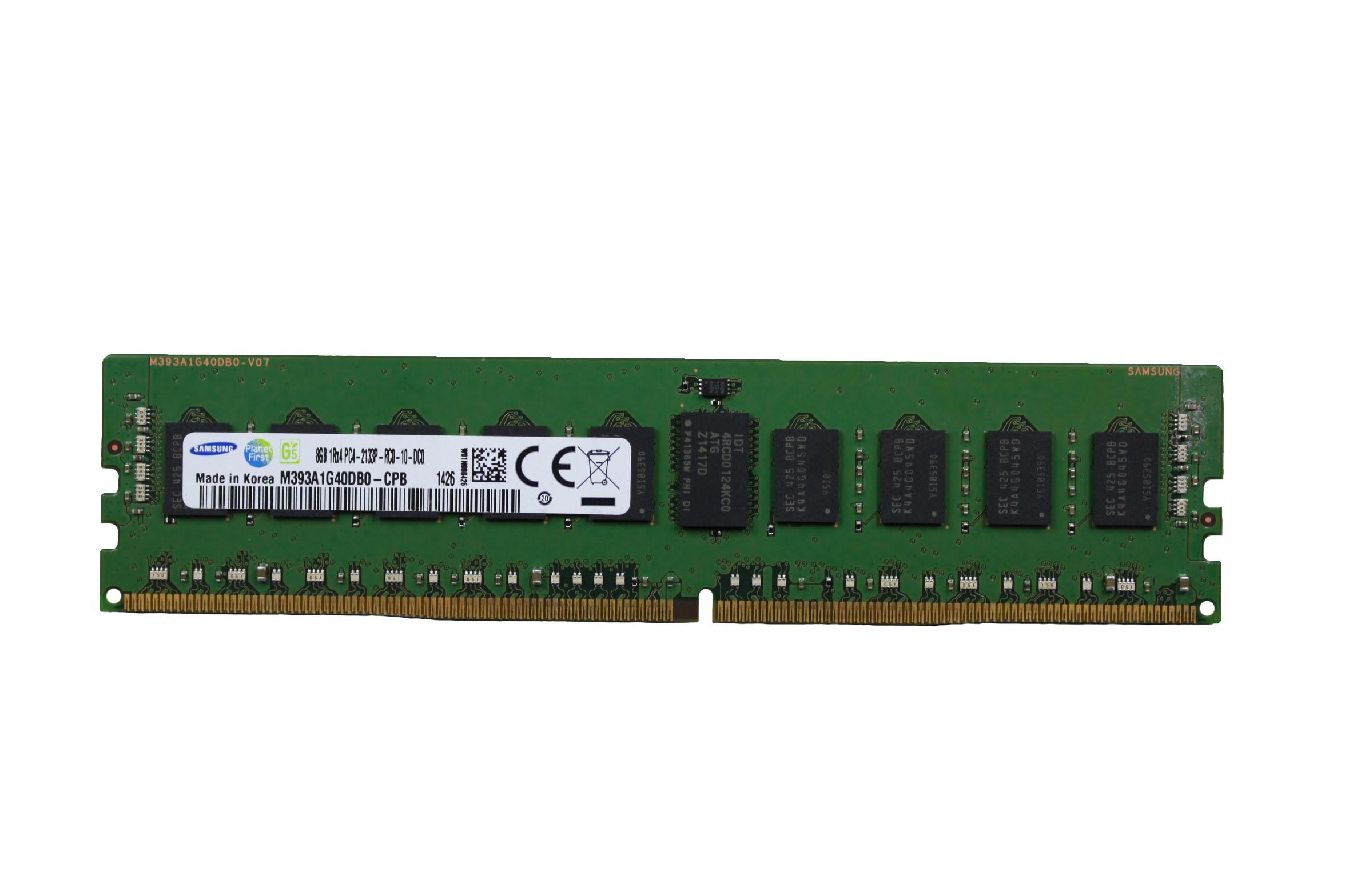 SAMSUNG 8GB 1RX4 PC4-2133P