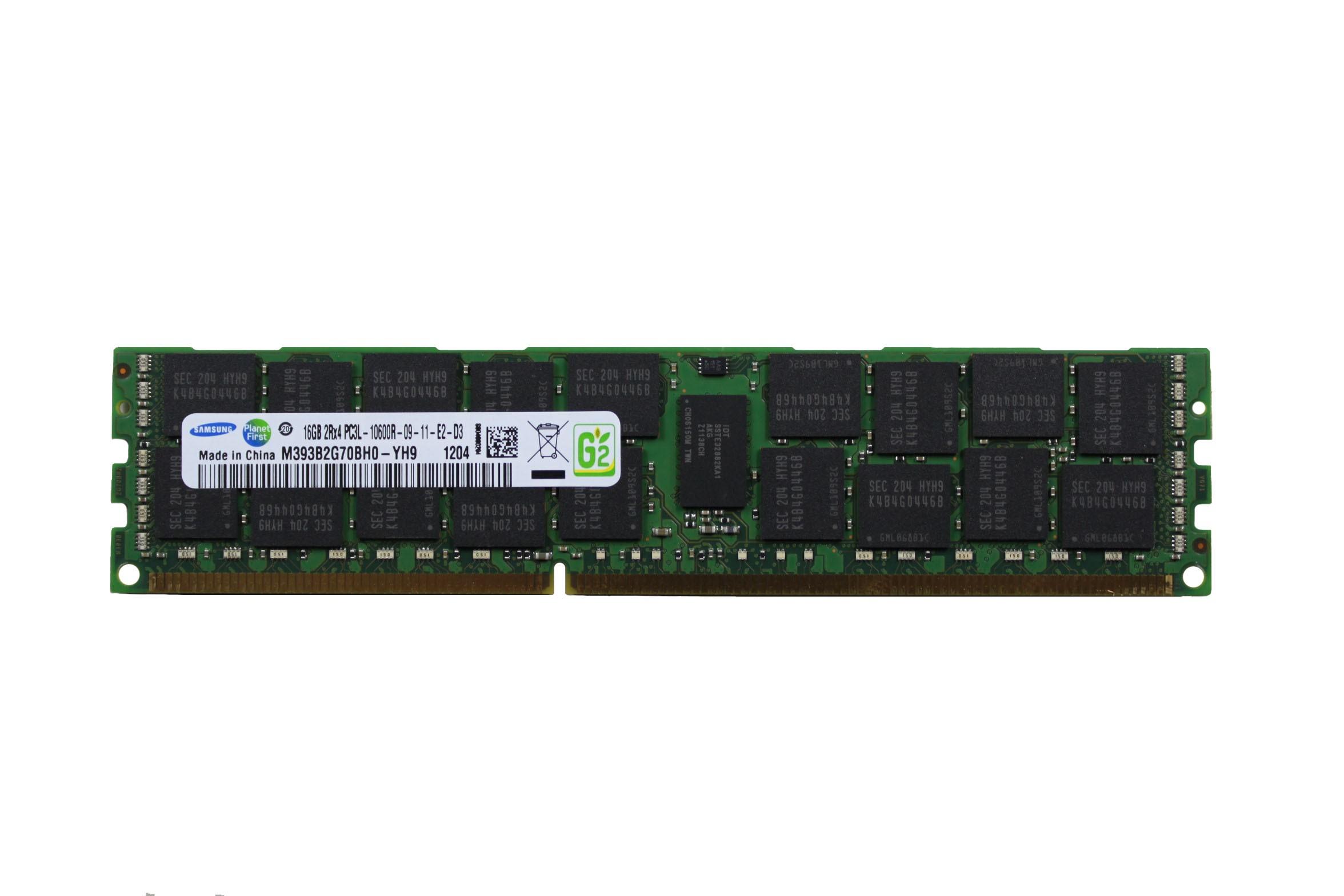 SAMSUNG 16GB 2RX4 PC3L-10600R